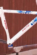 Guru Trilite Frame/Fork blue/white 57cm