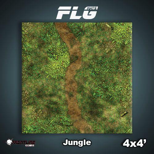 Frontline-Gaming FLG Mats: Jungle 4x4'