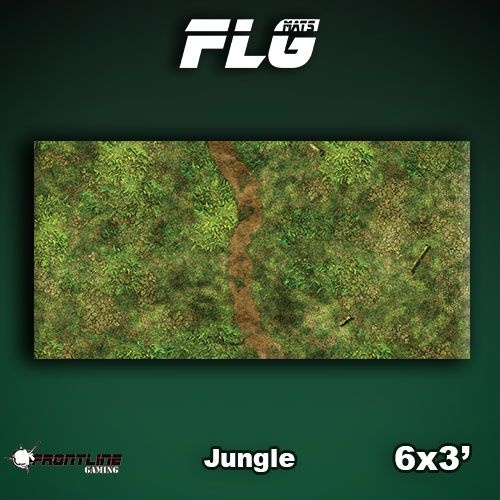 Frontline Gaming FLG Mats: Jungle 6x3'