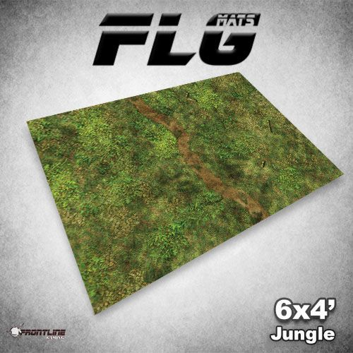 Frontline Gaming FLG Mats: Jungle 6x4'
