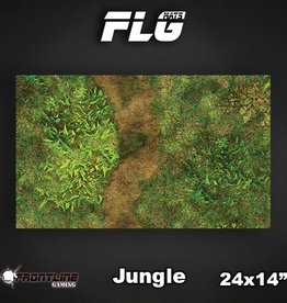 "Frontline Gaming FLG Mats: Jungle 24"" x 14"""