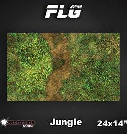 "Frontline-Gaming FLG Mats: Jungle 24"" x 14"""