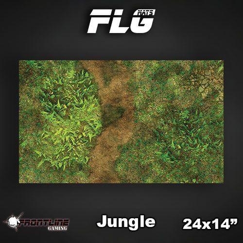 "Frontline Gaming FLG Mats: Jungle 24"" x 14"""
