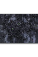 "Frontline Gaming FLG Mats: Infested Spaceship 24"" x 14"""