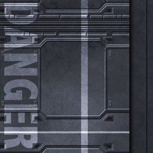 Frontline-Gaming FLG Mats: Spaceship 1 3x3'