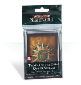 Games Workshop Warhammer Underworlds: Nightvault Thorns of the Briar Queen Sleeves