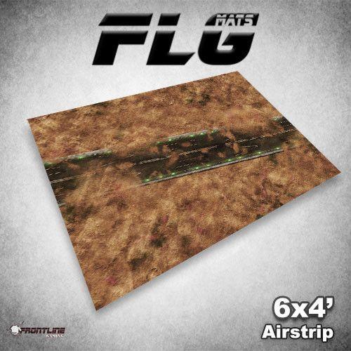 Frontline Gaming FLG Mats: Airstrip 6x4'