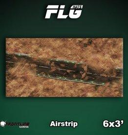 Frontline Gaming FLG Mats: Airstrip 6x3'