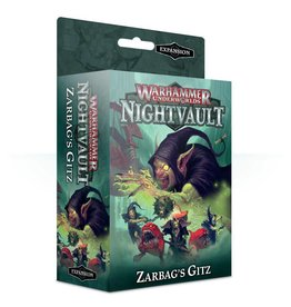 Games Workshop Warhammer Underworlds: Nightvault – Zarbag's Gitz
