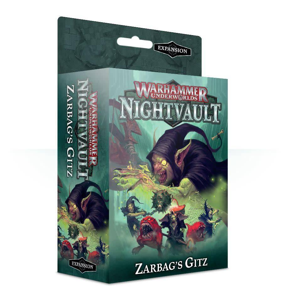 Games Workshop Warhammer Underworlds: Nightvault – Zarbag's Gitz