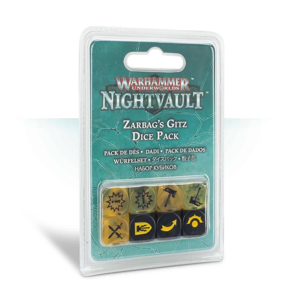 Games Workshop Warhammer Underworlds: Nightvault – Zarbag's Gitz Dice