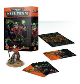 Games Workshop Kill Team: Ankra the Colossus Necron Commander Set