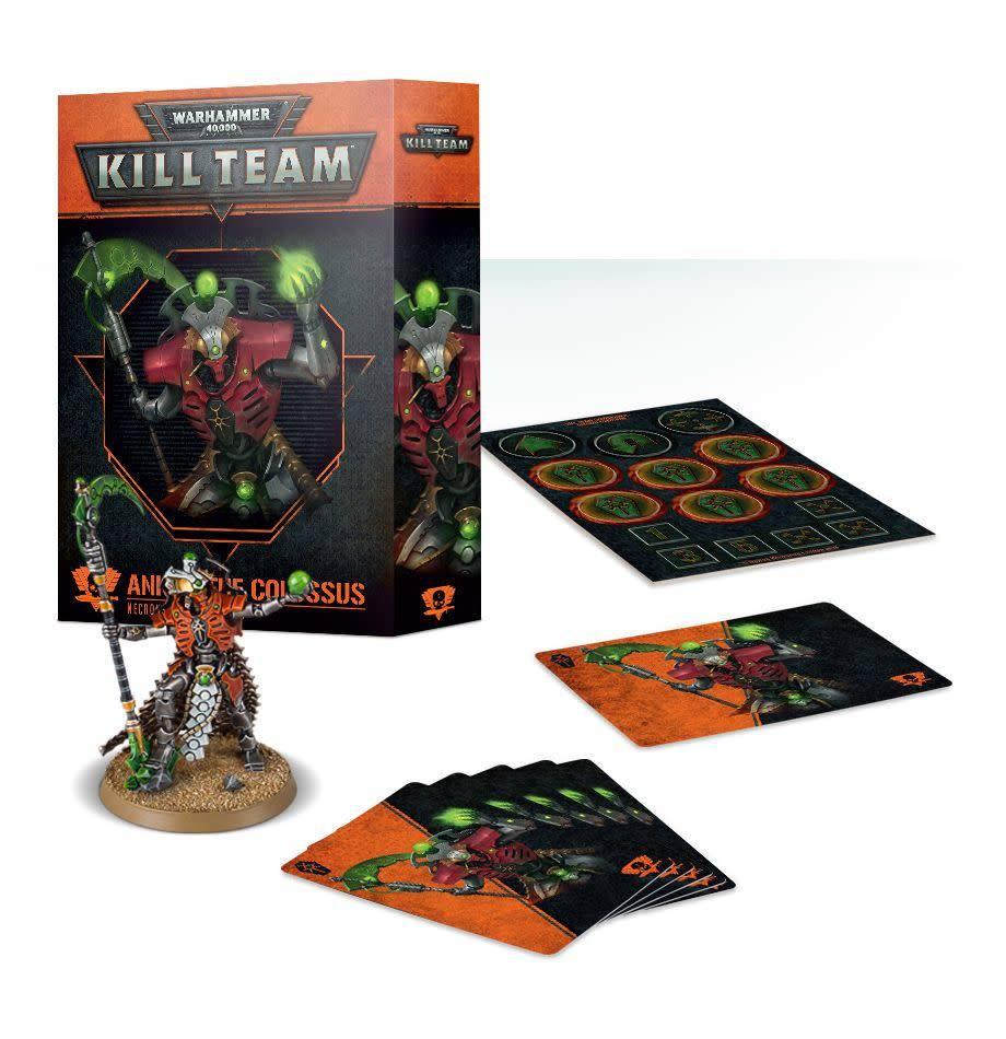 Games Workshop Kill Team: Ankra the Colossus Necron Commander Set