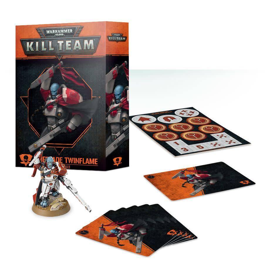 Games Workshop Kill Team: Fireblade Twinflame T'au Empire Commander