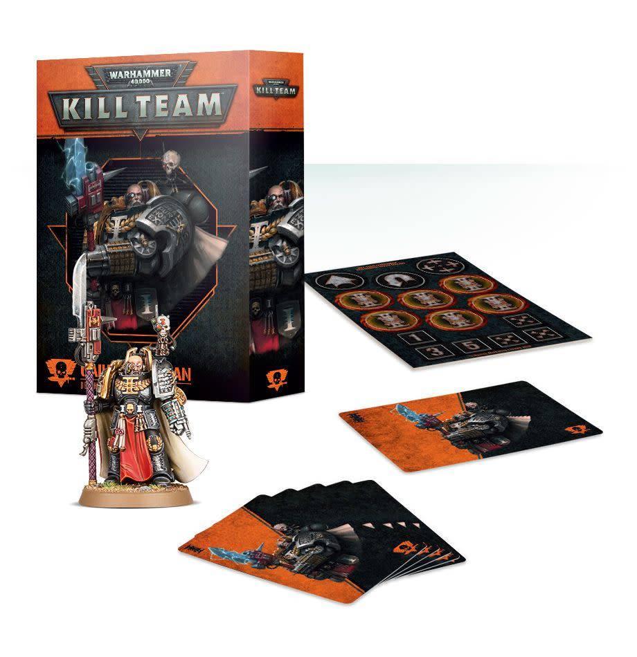 Games Workshop Kill Team: Gaius Acastian Deathwatch Commander Set