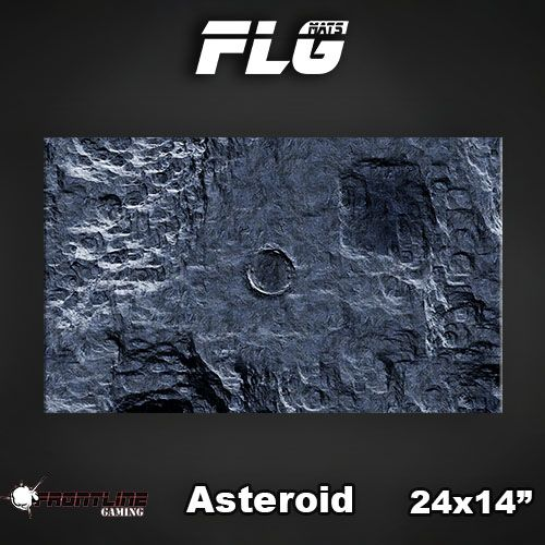 """Frontline Gaming FLG Mats: Asteroid 24"""" x 14"""""""