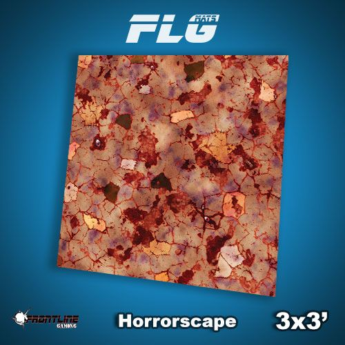 Frontline-Gaming FLG Mats: Horrorscape 3x3'