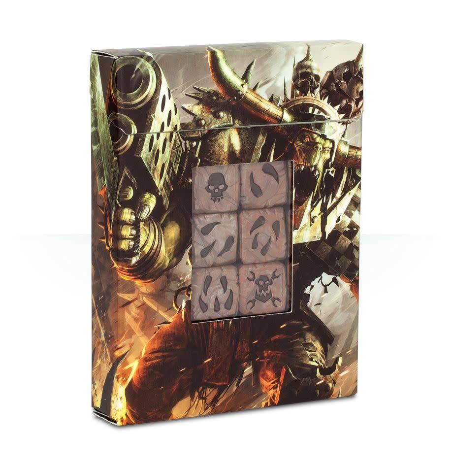 Games Workshop Orks Dice