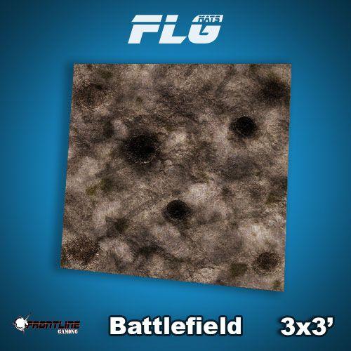 Frontline Gaming FLG Mats: Battlefield 3x3'
