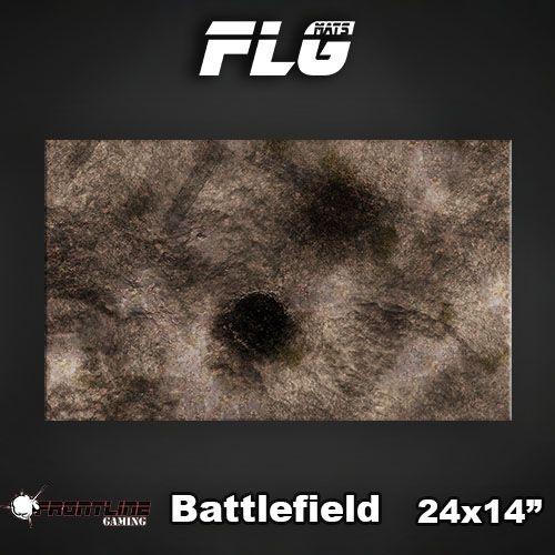 "Frontline-Gaming FLG Mats: Battlefield 24"" x 14"""