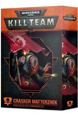 Games Workshop Kill Team: Crasker Matterzhek Genestealer Cults Commander Set