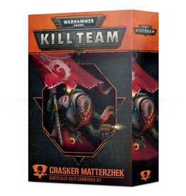 Games Workshop Kill Team: Crasker Matterzhek Genestealer Cults Commander Set