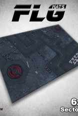 Frontline Gaming FLG Mats: Sector 17 6x4'