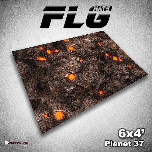 Frontline Gaming FLG Mats: Planet 37 6x4'
