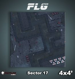 Frontline Gaming FLG Mats: Sector 17 4x4'