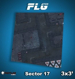 Frontline Gaming FLG Mats: Sector 17 3x3'