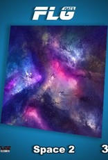 Frontline Gaming FLG Mats: Space 2 3x3'