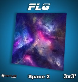 Frontline-Gaming FLG Mats: Space 2 3x3'