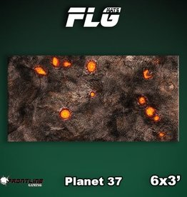 Frontline Gaming FLG Mats: Planet 37 6x3'