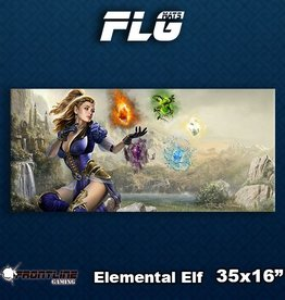 Frontline-Gaming FLG Mats: Elemental Elf Desk Mat