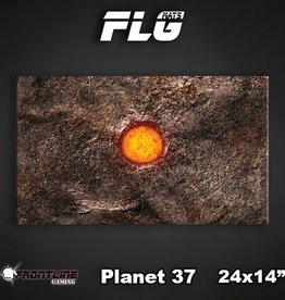 "Frontline-Gaming FLG Mats: Planet 37 24"" x 14"""