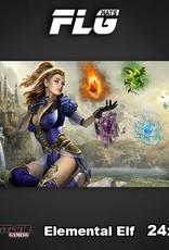 "Frontline-Gaming FLG Mats: Elemental Elf 24"" x 14"""