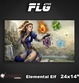 "Frontline Gaming FLG Mats: Elemental Elf 24"" x 14"""