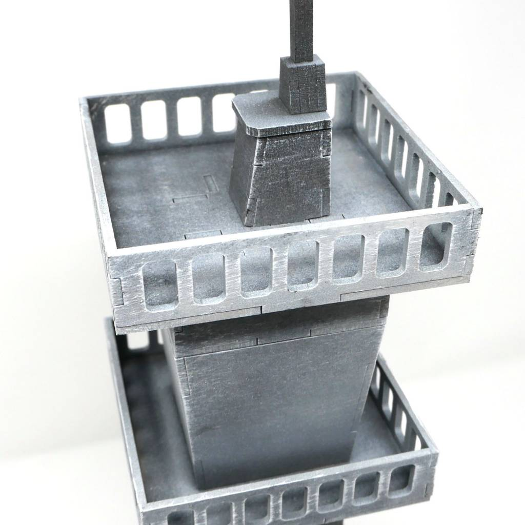 Frontline-Gaming ITC Terrain Series: Field Base Control Tower