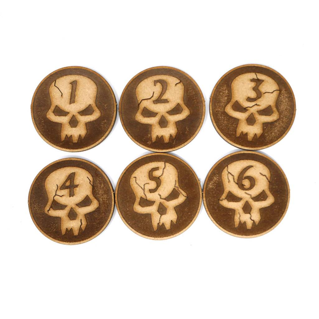 Frontline Gaming ITC Skull Objectives