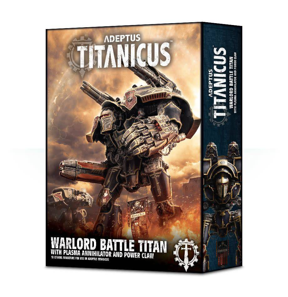 Games Workshop Adeptus Titanicus Warlord Battle Titan With Plasma Annihilator and Power Claw