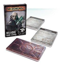 Games Workshop Delaque Gang Cards