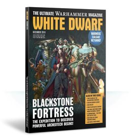 Games Workshop White Dwarf December 2018