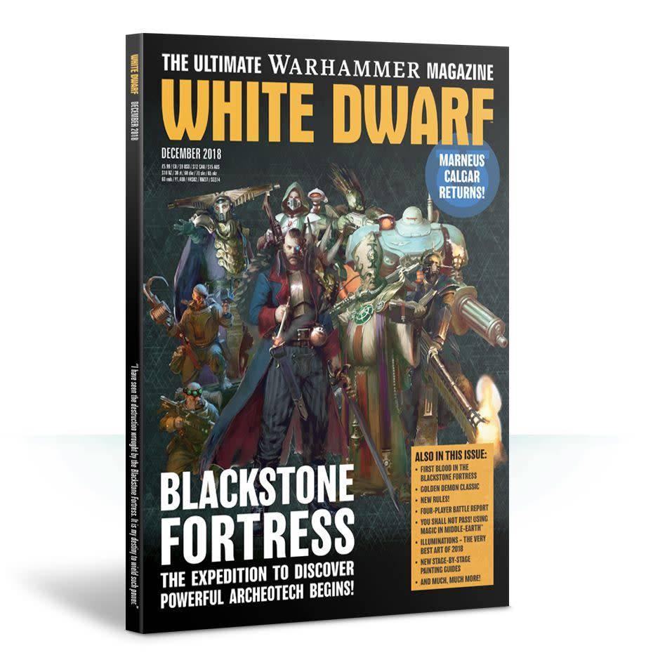 Games Workshop White Dwarf December 2018