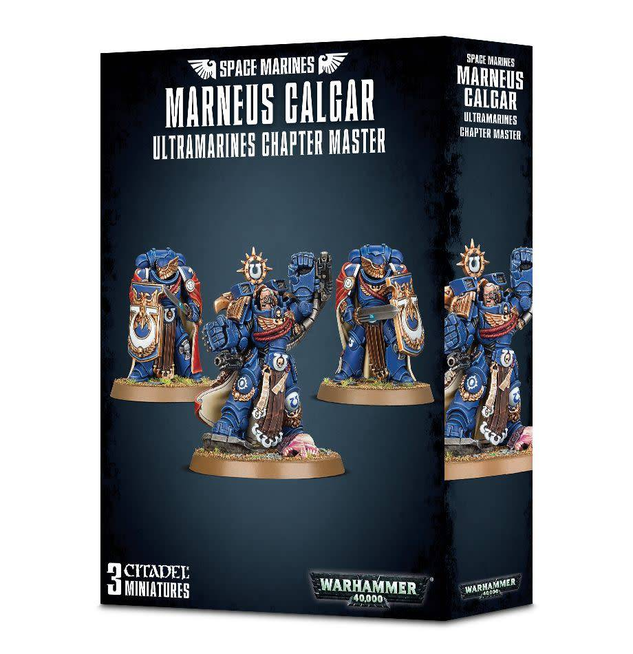 Games Workshop Marneus Calgar, Ultramarines Chapter Master