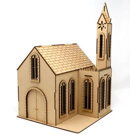 Frontline Gaming ITC Terrain Series: Cobblestone Village Church