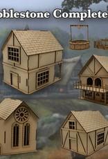 Frontline Gaming ITC Terrain Series: Cobblestone Village Complete Set