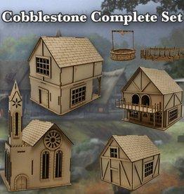 Frontline-Gaming ITC Terrain Series: Cobblestone Village Complete Set