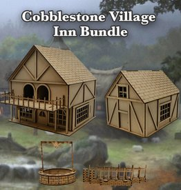 Frontline-Gaming ITC Terrain Series: Cobblestone Village Inn Bundle