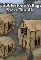 Frontline Gaming ITC Terrain Series: Cobblestone Village Store Bundle