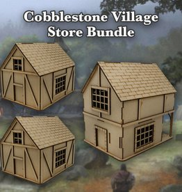 Frontline Gaming ITC Terrain Series: Cobblestone Village Store Bundle